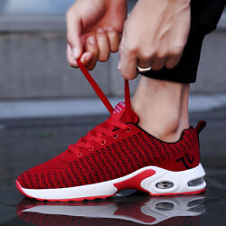 Men#x27;s Air Cushion Running Sneakers Sports Casual Tennis Walking Athletic Shoes $21.88