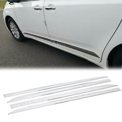 For Toyota SIENNA 2011 2020 ABS Outside Door Body Side Molding Chrome Trim 4 PCS $60.50
