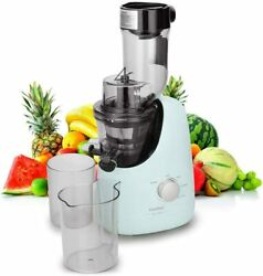 Juicer Extractor Ice Cream Maker Quiet Motor 60dB Multi function 3.4quot; feed Chute $79.99