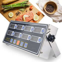 Commercial 8 Channel Digital Timer Kitchen Timing LCD Clock Shaking Reminder US