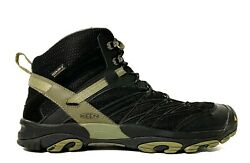 KEEN Dry Men#x27;s Marshall Mid Waterproof Black Hiking Trail Boot Shoe Size 11 $64.95