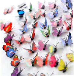 House Decoration Butterflies Stickers Removable 3D Decor Wall $11.00