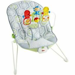 Fisher Price Bouncer Geo Meadow with Removable Toy Bar $29.00