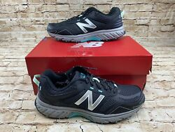 New Balance Womens Wt510lb4 Black Hiking Shoes Size 9.5 New With Box $39.95