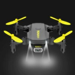 Mini Drone With 4K HD Camera VR Dron Foldable RC Quadcopter GPS Wifi Drones Toys $69.99