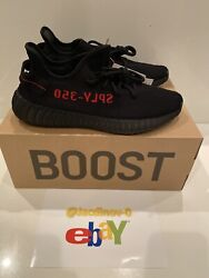 "Adidas Yeezy Boost 350 V2 ""Bred"" Size 11 Mens IN HAND $370.00"