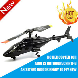 Rc Helicopter For Adults Outdoor 5CH RTF 6 Axis Gyro indoor ready to fly $120.98