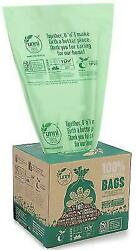 Food Scrap Small Kitchen Trash Compostable Bags 2.6 Gallon 9.84 Liter 100 Count $17.92