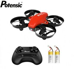 Potensic A20 Nano Drone Mini RC Quadcopter 2.4G 6 Axis Remote Control Aircraft $29.99