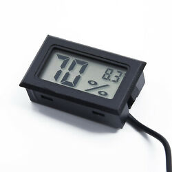 High garde Thermometer Monitor Hygrometer Humidity Temperature Indoor Meter Lcd C $12.07