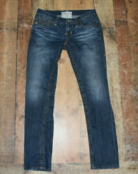 Big Star Womens Nico Jeans Size 29R 30 Inseam Factory Fading Cotton Blend B35 $19.99