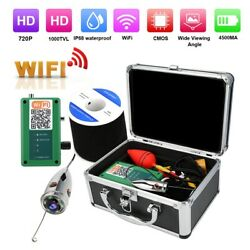 720P WiFi Underwater Camera Fish Finder 6LED With 20m Cables Outdoor Waterproof $145.83