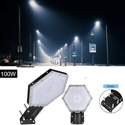 100W LED Road Street Light Commercial Flood Light Outdoor Garden Security Lamp
