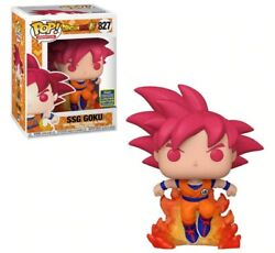 Funko Pop Dragon Ball Z SSG Goku #827 Limited Edition Exclusive MINT Protector $24.70