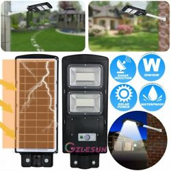 95000LM Solar LED Street Light Commercial Outdoor IP67 Area Security Road Lamp