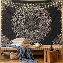 Tapestry Wall Hanging Psychedelic Mandala Hippie Tapestry Blanket Bohemian Decor $24.99