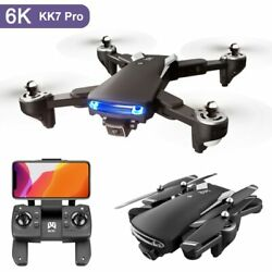KK7 Pro GPS 5G WiFi FPV With 6K HD Camera Positioning RC Drone Mini Quadcopter $128.24