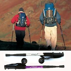 Anti Shock Walking Canes Telescopic Trekking Hiking Poles Nordic Walking Sticks $14.01