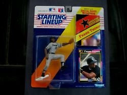 1992 FRANK THOMAS KENNER STARTING LINEUP MINT FIGURE POSTER amp; CARD $2.50
