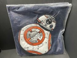 20quot; Pottery Barn Kids STAR WAR BB 8 Droid PILLOW COVER Bed Valentine Gift NEW $49.80