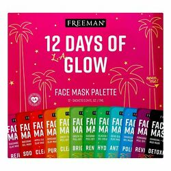 Freeman 12 Days of Glow Holiday Hydrating Facial Mask Gift Set 12 P $22.99
