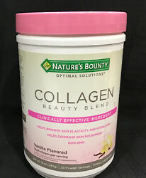 Nature#x27;s Bounty Collagen Beauty Blend Vanilla 12 Oz. Exp: 02 2022 Free Ship $18.99