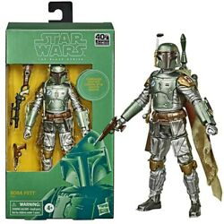 Star Wars The Black Series Carbonized Boba Fett 6 Inch Action Figure $33.75
