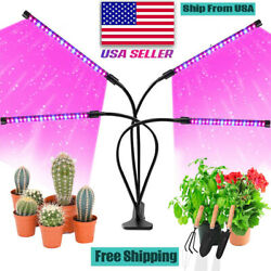 4 Heads LED Plants Grow Light Plant Growing Lamp Lights for Indoor Hydroponics $19.98