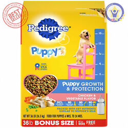 Pedigree Complete Nutrition Puppy Dry Dog Food Chicken 36 lb $42.76