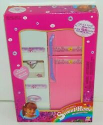 Vintage 2000 Sweet Home Accessories Kitchen For 11 1 2quot; Dolls Refrigerator NEW $9.95