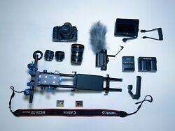 Canon 5D Mark II Filmmaking cinema bundle EF 17 40mm vintage lenses etc small hd $1000.00