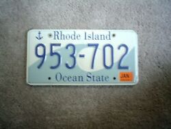 RHODE ISLAND OCEAN LICENSE PLATE BUY ALL STATES HERE FREE SHIP $19.99