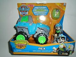 Nickelodeon Paw Patrol Rex Deluxe Vehicle Dino Rescue quot;NEWquot; $32.00