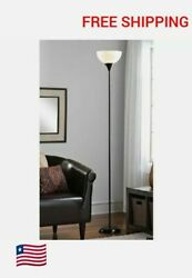 71 Inch Metal Floor Lamp Living Room Light Stand Scoop Shade Read Torchiere 150W $13.99