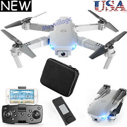 FPV Wifi RC Drone Wide Angle HD Camera Foldable Quadcopter Selfie 4K 1080P Toy $49.99