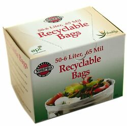 Norpro 50 Count 6 Liter Recyclable Compost Bags $13.04