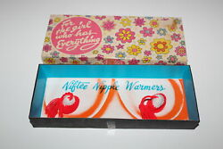 Vintage novelty For the Girl Who Has Everything Niftee Nipple Warmers in Box $20.00