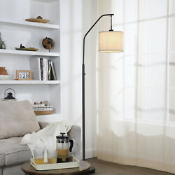 DEWENWILS Modern ARC Floor Lamps for living room with 10W LED Dimmable Bulb $59.99