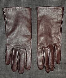 BROWN LEATHER FLEECE LINED DRIVING GLOVES WOMEN#x27;S SIZE XXL $9.99