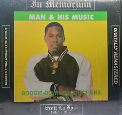 Boogie Down Productions Man amp; His Music 2x LP Used Vinyl $21.00