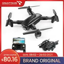 Snaptain Spe500Mq Wifi Fpv Drone Gps 1080P Wide Angle Hd Drones Camera Foldable $116.20