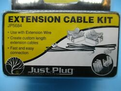 WOODLAND SCENICS quot;JUST PLUG LIGHTING SYSTEMquot; EXTENSION CABLE KIT $6.95