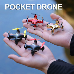 Diy Rc Drone Mini Quadcopter With Camera Hd Wifi Fpv Racing Drone Rc Helicopter $54.99