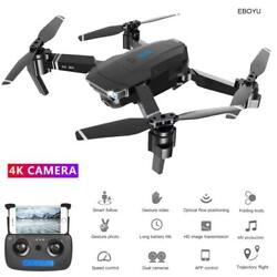4K Hd Front CameraAnd 720P Bottom Came 2.4Ghz Foldable RC Quadcopter flight time $150.99