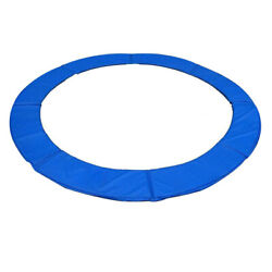 12#x27; 13#x27; 14#x27; 15#x27; Round Trampoline Safety Pad Replacement Frame Spring Blue Cover $62.90