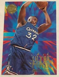 1995 96 Ultra SHAQUILLE O'NEAL Ultra Power Gold Medallion #9 of 10 $8.99