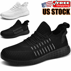 Men#x27;s Athletic Casual Sneakers Sports Running Jogging Outdoor Tennis Gym Shoes $17.99
