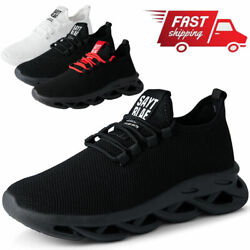 Men#x27;s Athletic Casual Sneakers Sports Running Walking Tennis Non slip Shoes Gym $14.99