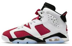 Air Jordan 6 Carmine Retro VI GS OG 2021 Red White 384665 106 $169.99
