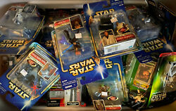 STAR WARS POWER OF THE FORCE EPISODE I ATTACK OF THE CLONE AOTC FIGURES COMMTECH $15.99